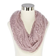 Mixit™ Sequin Scroll Crochet Scarf