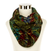 V. Fraas Paisley Infinity Scarf