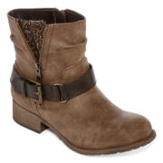 Pop Geller Womens Ankle Booties