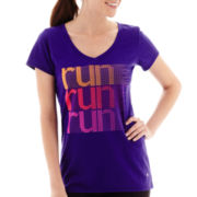 Xersion™ Short-Sleeve High-Low Graphic T-Shirt - Tall