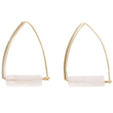 jcpenney.com | a.n.a® Pink Gold-Tone Earrings