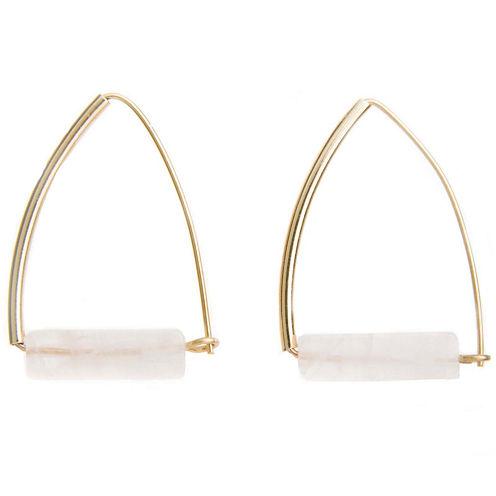 a.n.a® Pink Gold-Tone Earrings