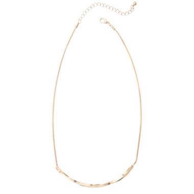 jcpenney.com | a.n.a® Gold-Tone Bar Necklace