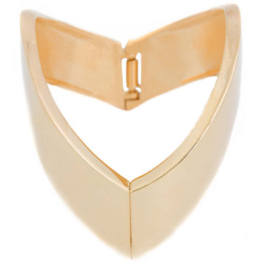 jcpenney.com | a.n.a® Gold-Tone Arrow Bangle Bracelet