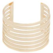 a.n.a® Multi-Row Gold-Tone Cuff Bracelet