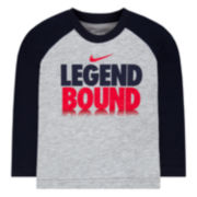 Nike® Long-Sleeve Graphic Tee - Preschool Boys 4-7