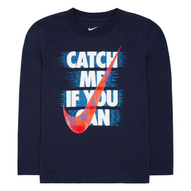 jcpenney.com | Nike® Long-Sleeve Graphic Tee - Preschool Boys 4-7