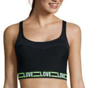 City Streets® Banded Sports Bra
