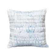 Shell Rummel Magnolia Square Pebble Decorative Pillow