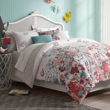 jcpenney.com | Collier Campbell Sketchbook Floral Comforter Set