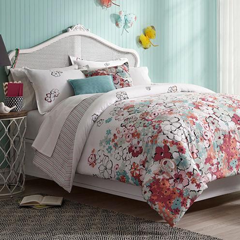 Collier Campbell Sketchbook Floral Comforter Set