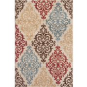 Alpine Scroll Rectangular Rug