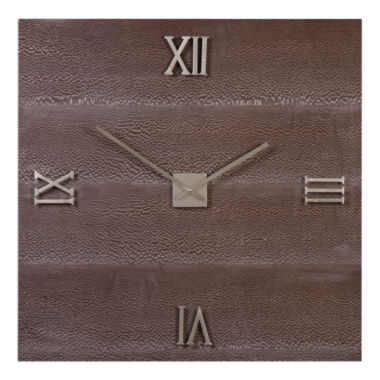 "jcpenney.com | Michaela 30"" Square Wall Clock"