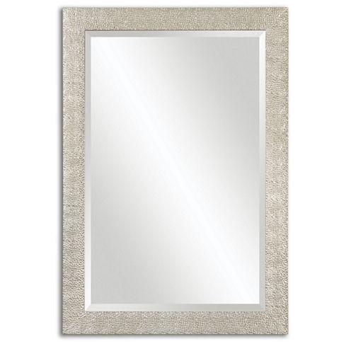 Porcius Silver Rectangle Mirror