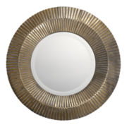 Amasa Metal Round Wall Mirror