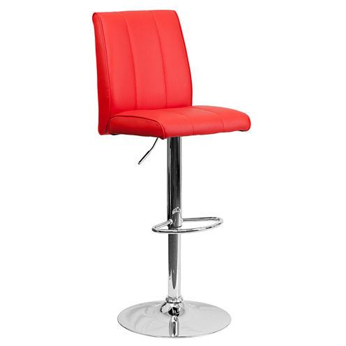 Vertical Line Design Contemporary Barstool