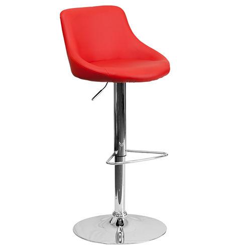 Bucket Seat Contemporary Barstool