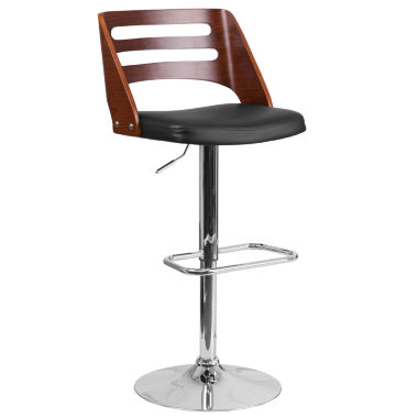 jcpenney.com | Walnut Adjustable Bar Stool