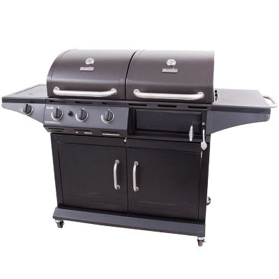 Char Broil Charcoal/Gas Combo Deluxe Gas Grill