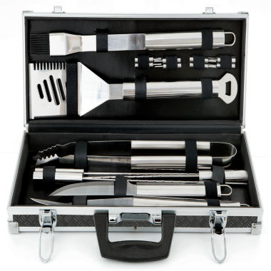 jcpenney.com | Mr. Bar-B-Q 18-pc. Stainless Steel Barbecue Tool Set