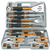 Mr. Bar.B.Q 18-pc. Gourmet Stainless Steel Tool Set