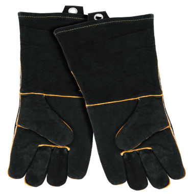 jcpenney.com | Mr. Bar B Q Extra-Long Leather Barbecue Gloves