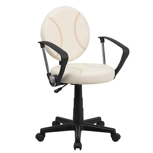 Kids Baseball Task Chair