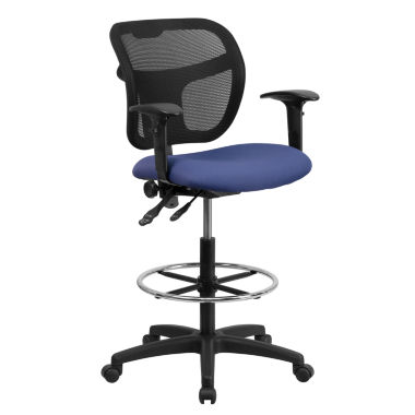 jcpenney.com | Contemporary Mid-Back Drafting Stool