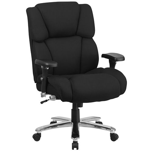 Contemporary Multi-Shift Big & Tall Fabric Office Chair