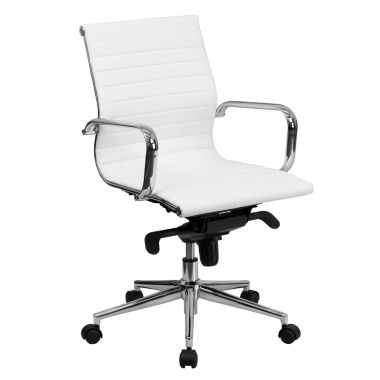 jcpenney.com | Mid Back Contemporary Leather Office Chair