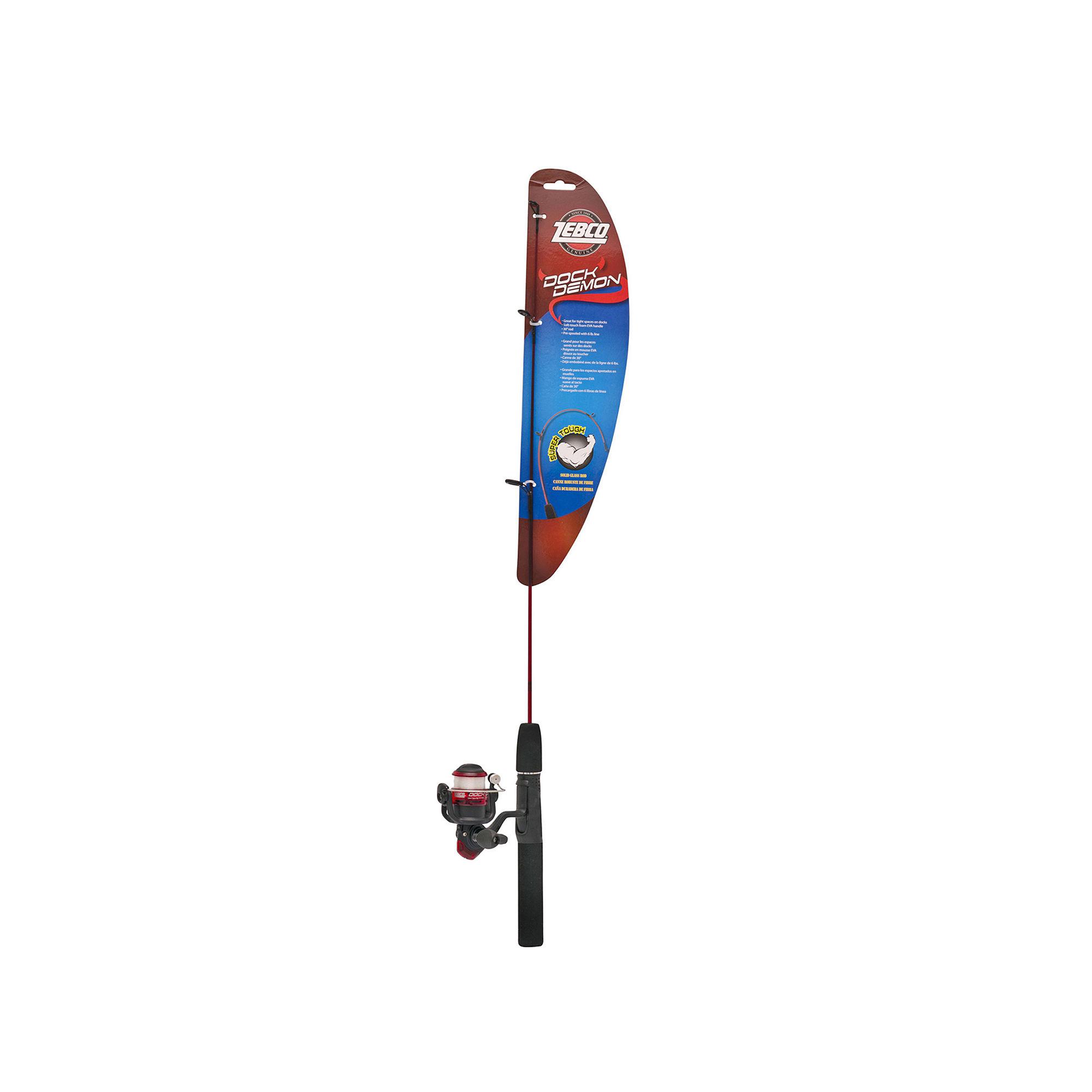 032784606260 upc zebco dock demon version z 30 inch for Dock demon fishing rod