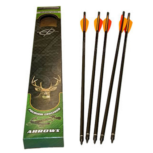 "Barnett Crossbows™ 5-pk. 20"" Headhunter Arrows with Field Points and Moon Nock"