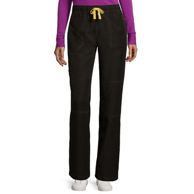 47a49d71328 WonderWink Womens Four Stretch Sporty Cargo Pants JCPenney