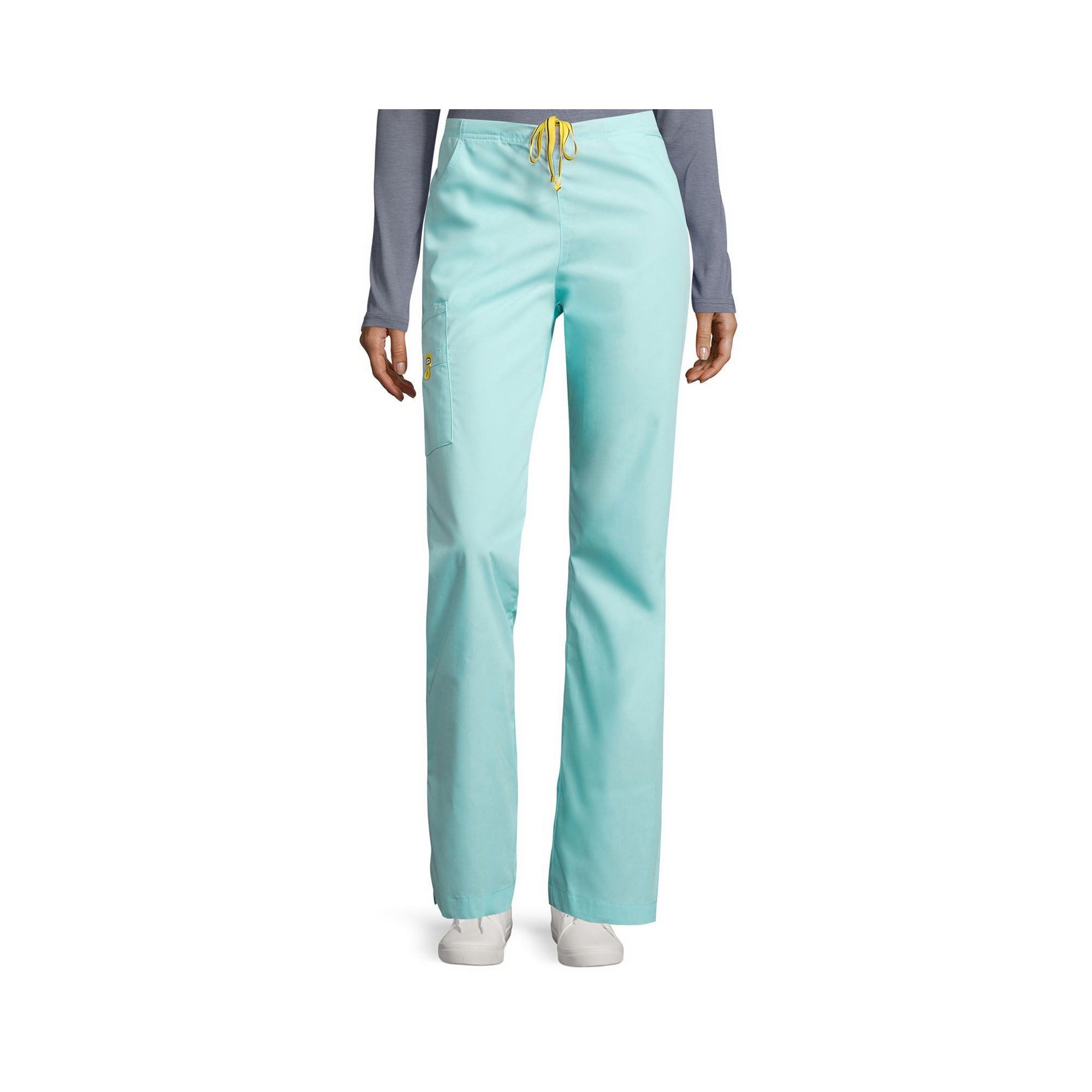 WonderWink Womens 6-Pocket Flare-Leg Pants - Plus and Tall plus size,  plus size fashion plus size appare