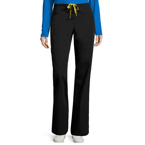 WonderWink® Womens 6-Pocket Flare-Leg Pants - Plus and Tall