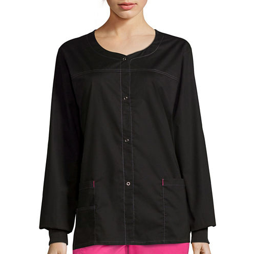 WonderWink® Womens Constance Snap-Front Jacket