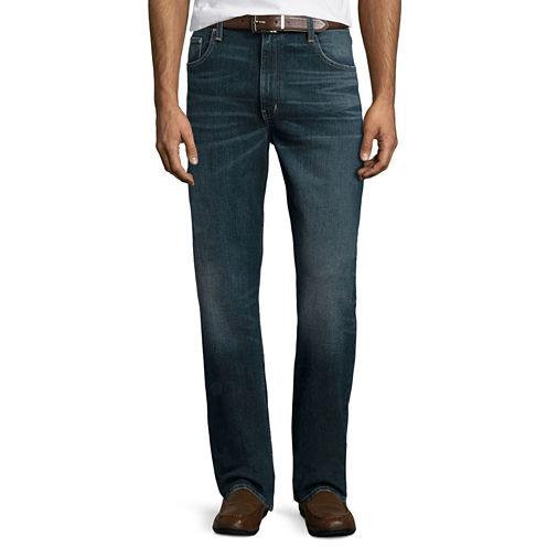 St. John's Bay® Regular-Fit Comfort Stretch Denim Jeans
