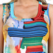 24/7 Comfort Apparel French Watercolor Sundress-Plus Maternity