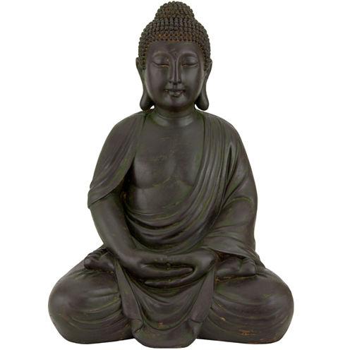 Oriental Furniture Buddha Figurine