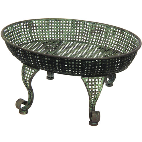 Oriental Furniture Iron Plant Stand