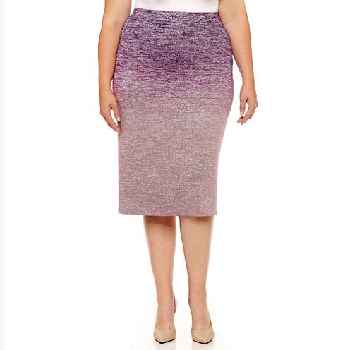 Liz Claiborne Pencil Skirt-Plus
