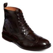 Stafford® Kent Mens Wingtip Boots
