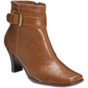 A2 by Aerosoles® Cinch of Luck Buckle-Strap Ankle Boots