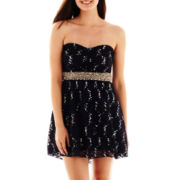 My Michelle® Sequin Lace Dress