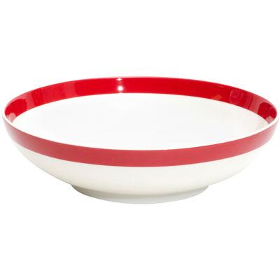 Red Vanilla Freshness Coupe Porcelain Bowl