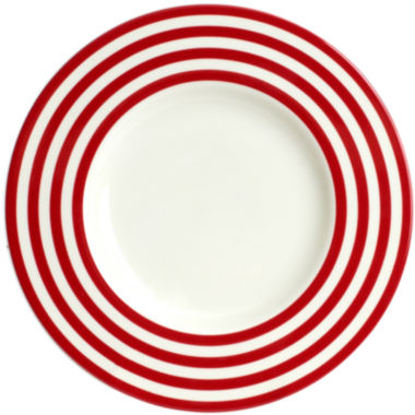 jcpenney.com | Red Vanilla Freshness Lines Salad Plate