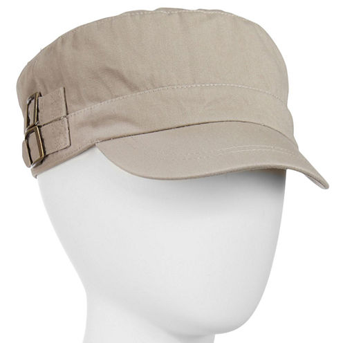 Double-Buckle Cadet Hat