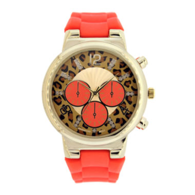 jcpenney.com | Mixit™ Womens Animal Print Dial Watch