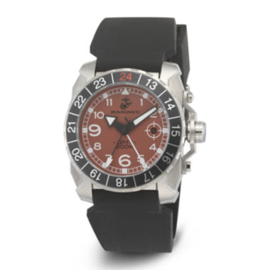 jcpenney.com | Wrist Armor® WA139 Mens US Marine Corps Stainless Steel Watch