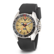 Wrist Armor® C3 Mens US Air Force Yellow Dial Rubber Strap Watch